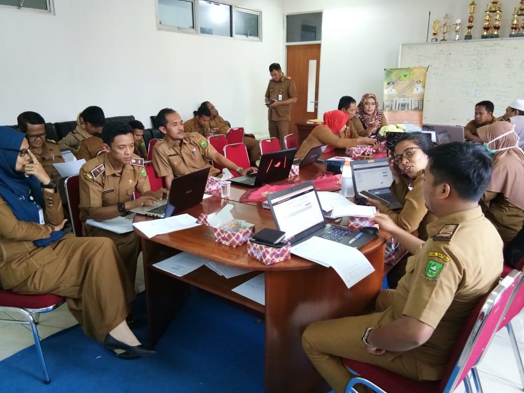 Aktivitas Pengisian LHKPN dan LHKASN Pejabat Struktural dan ASN di Dinas PUPR Kabupaten Natuna